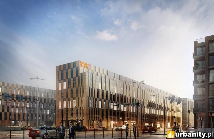 Projekt inwestycji High Five w Krakowie