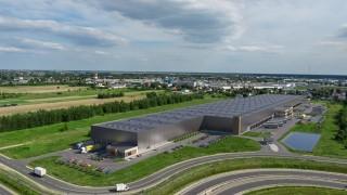 Warsaw II Logistics Centre z lotu ptaka