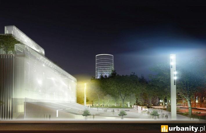 projekt Centrum Spotkania Kultur w Lublinie