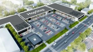 Projekt centrum HopStop w Zamościu