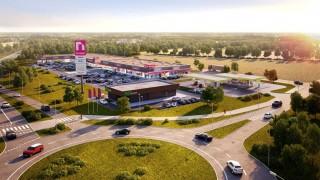 Projekt parku handlowego N-Park w Gorzowie Wielkopolskim
