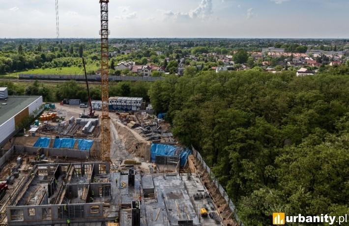 Tak obecnie wygląda budowa III etapu osiedla Red Park