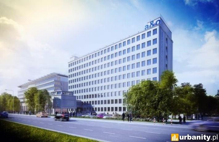 A&O Warsaw Wola - wizualizacja