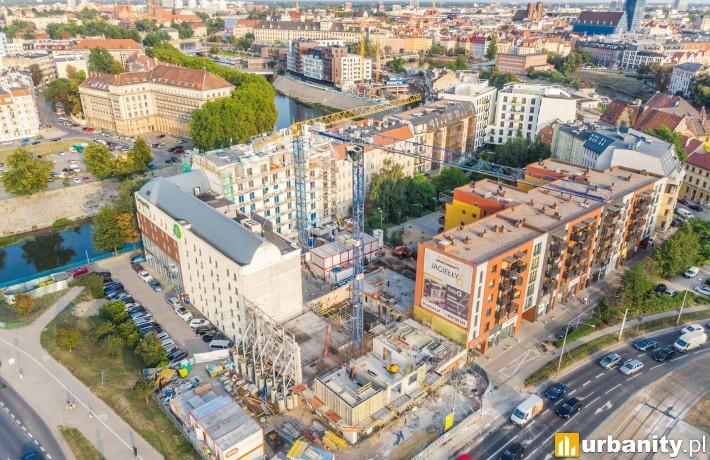 Zdjęcia z realizacji inwestycji przy Jagiełły 6 (fot. Bouygues Immobilier Polska)