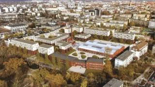Projekt osiedla we Wrocławiu w ramach programu Mieszkanie Plus