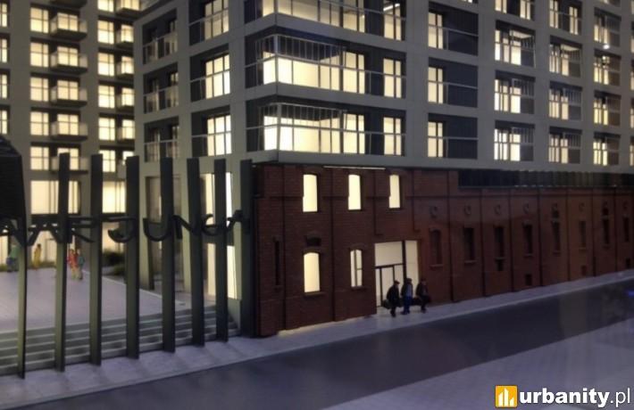 Wizualizacja inwestycji Mennica Residence