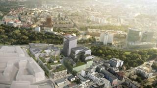 Nowy Rynek w Poznaniu - wizualizacja