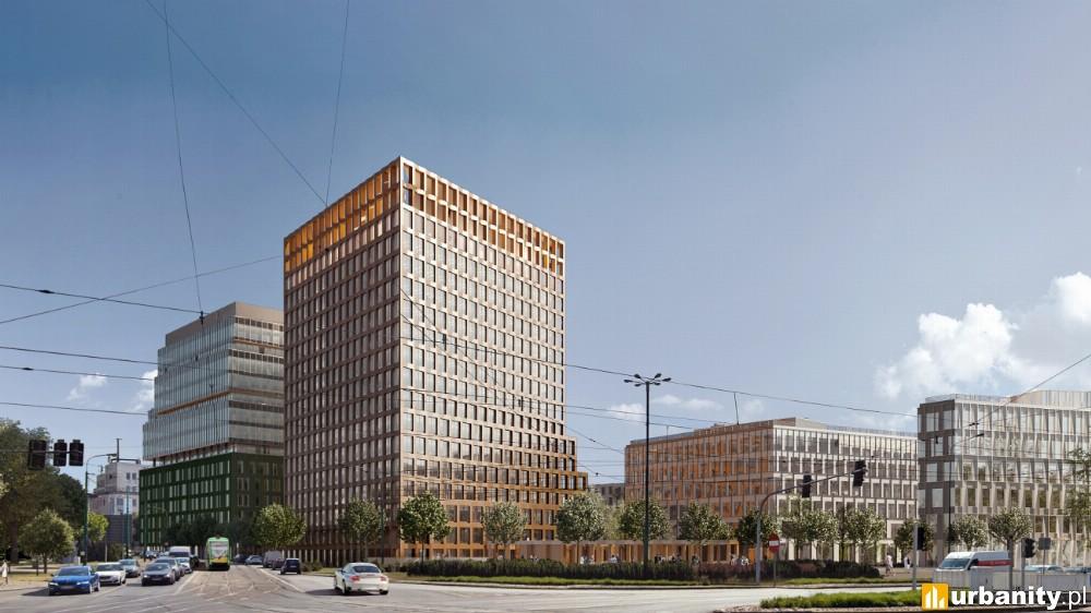 Powstaje nowy biurowiec w Poznaniu. Przedostatni etap Nowego Rynku już w realizacji