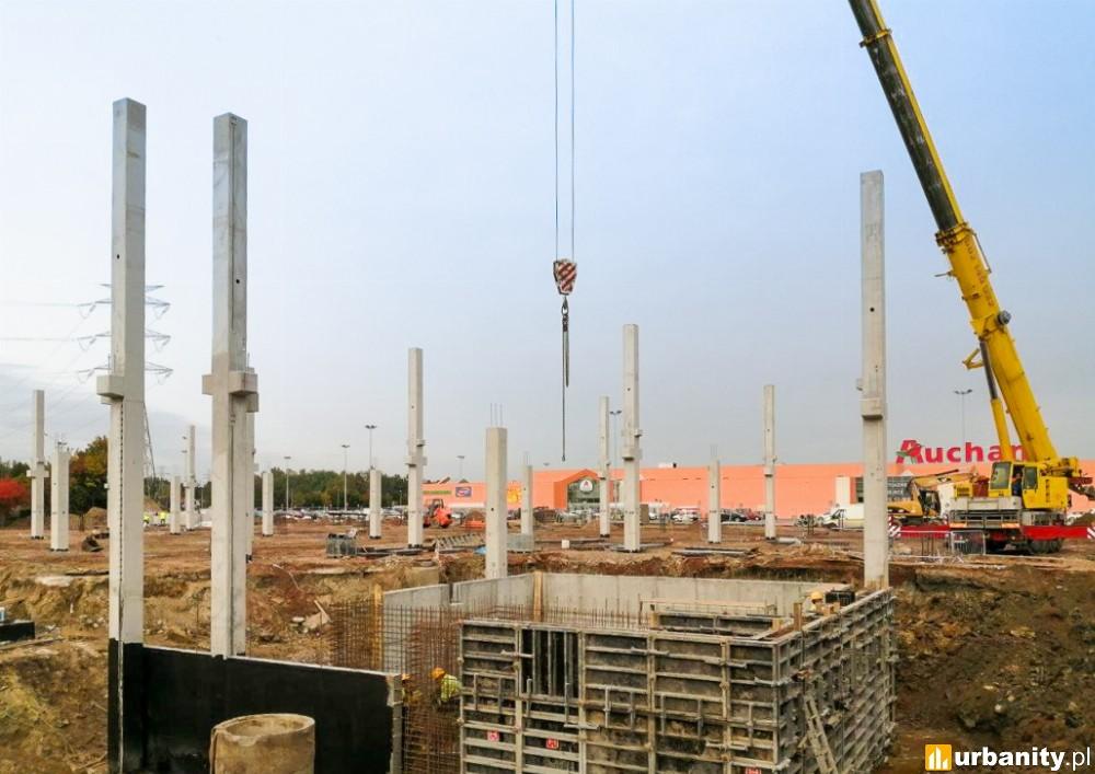 Przy Centrum Handlowym Auchan Bydgoszcz ruszyła budowa Salonu Agata
