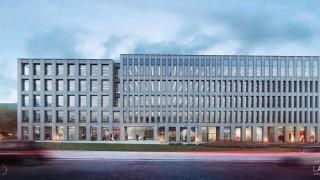 Nowoczesny biurowiec po hali Torbyd w Bydgoszczy