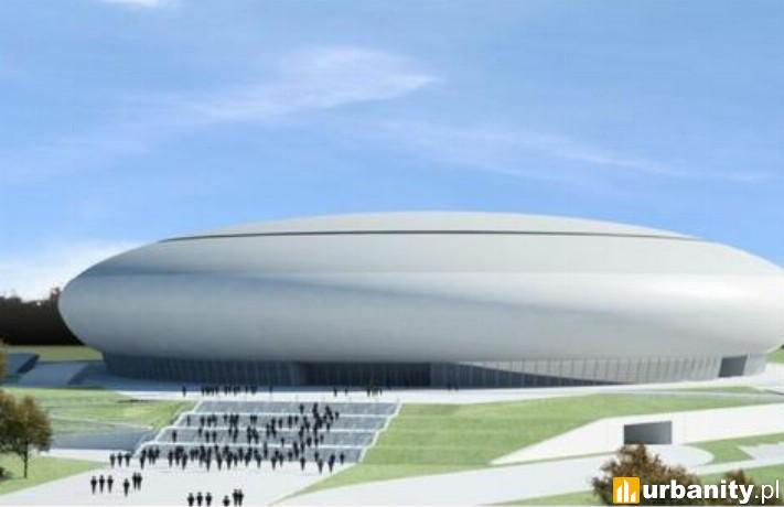 Projekt hali sportowej na Czyżynach