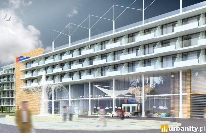 Hilton Garden Inn Kołobrzeg - projekt