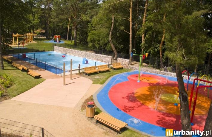 Kompleks basenowo-rekreacyjny w Powsinie