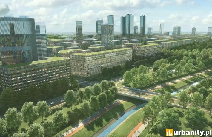 Multifunkcyjne zielone miasto powstanie na południu Krakowa