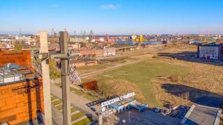 Teren inwestycji w sąsiedztwie ECS, Gdańsk