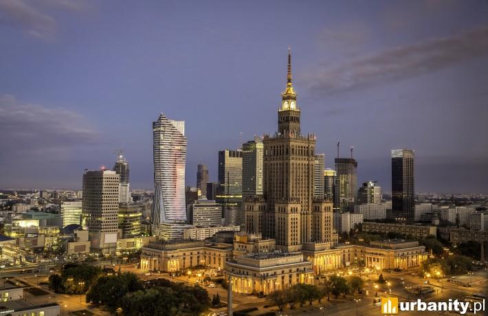 Centrum Warszawy (fot. CBRE)
