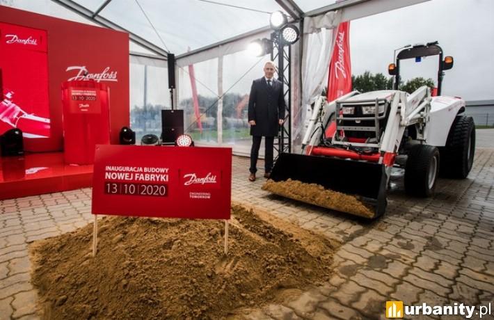 Fabryka dla Danfoss Poland - rozpoczęcie budowy