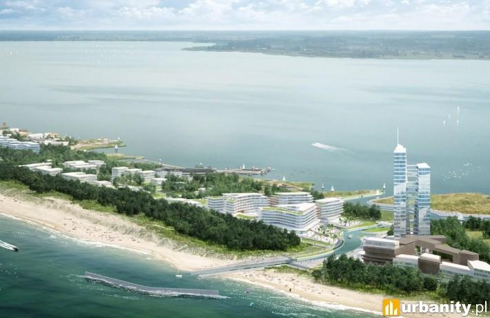 Wizualizacja projektu Dune City