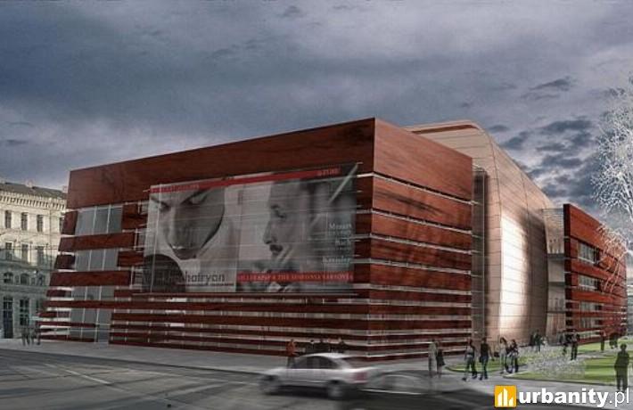 Wizualizacja Narodowego Forum Muzyki we Wrocławiu