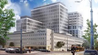 Projekt kompleksu Wola Retro w Warszawie