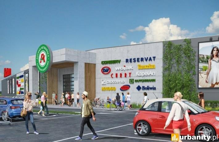 Rozbudowa Centrum Handlowego Auchan Hetmańska