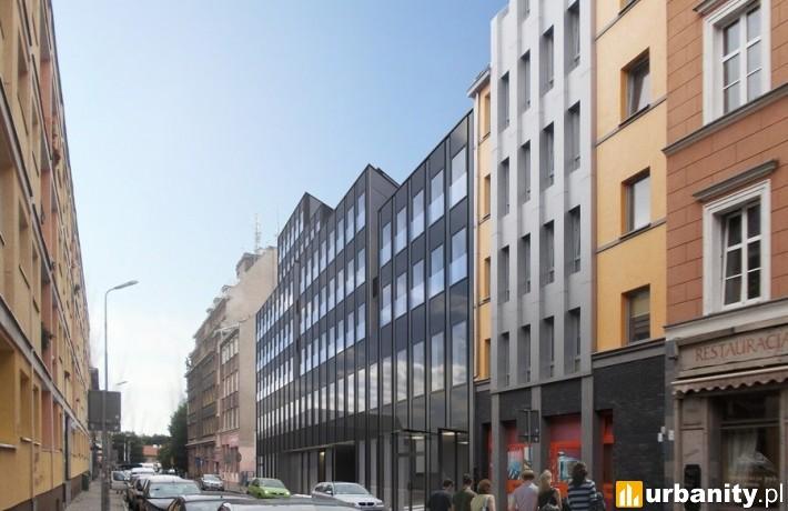 Projekt apartamentowca Czarna Perła w Szczecinie