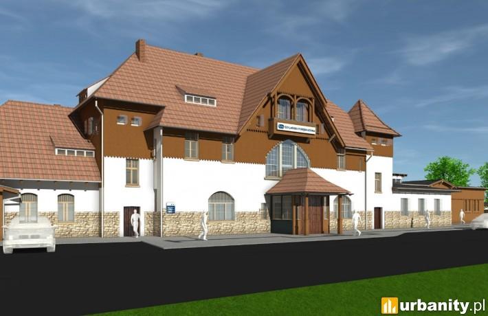 Dworzec Szklarska Poręba Górna - wizualizacja