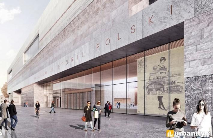 Projekt Muzeum Historii Polski w Warszawie