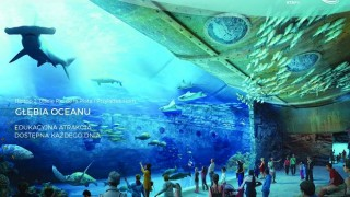 Wizualizacja oceanarium w kompleksie Nautilus