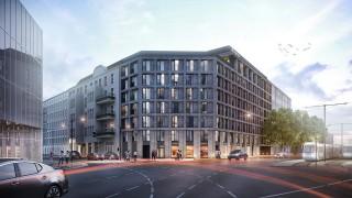 Projekt aparthotelu przy ulicy Krasińskiego we Wrocławiu