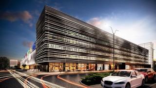 Centrum targowo-wystawiennicze GlobalExpo - wizualizacja