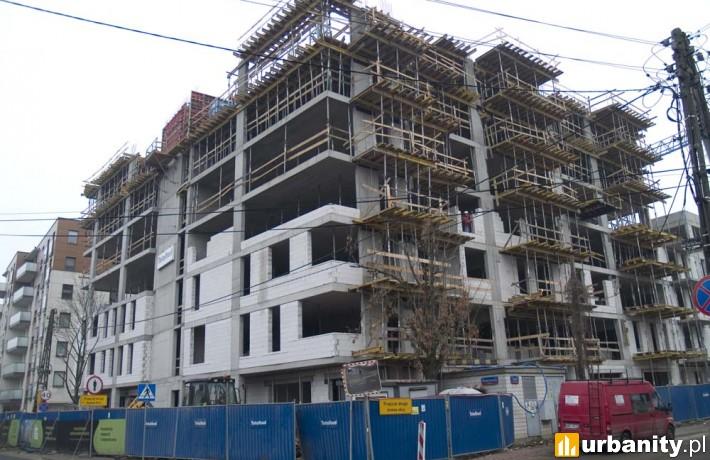 Postęp prac na budowie Lira Park w Warszawie