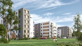 Projekt osiedla Nowy Poznań Grupy Murapol
