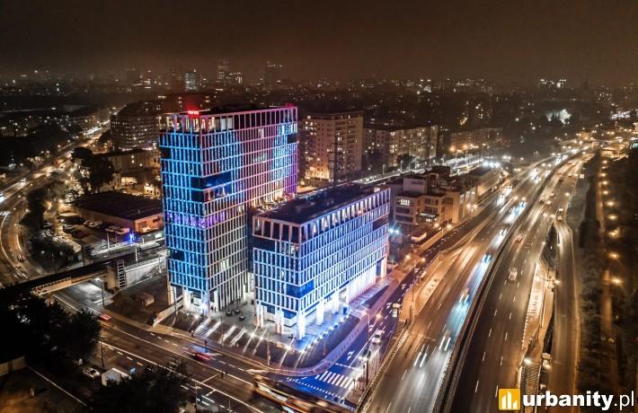 Biurowiec Vector+ w Warszawie
