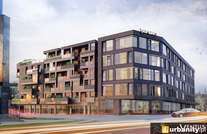 Tak prezentowała się będzie inwestycja Ventus Apollo Business & Living w Kielcach