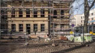Powstaje największa biblioteka multimedialna w Łodzi , fot. Stefan Brajter / UMŁ