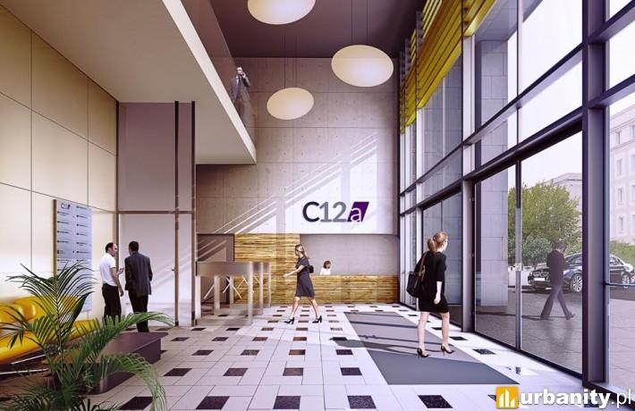 Planowany biurowiec C12A w Warszawie