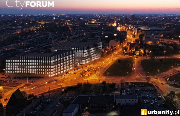 Biurowiec City Forum we Wrocławiu