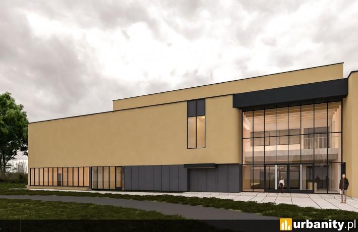 Projekt hali widowiskowo-sportowej w Puszczykowie