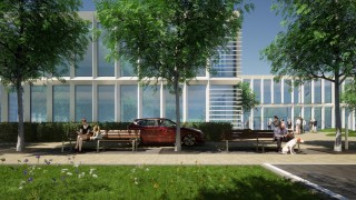 Projekt inwestycji Hillwood przy ulicy Mineralnej w Warszawie