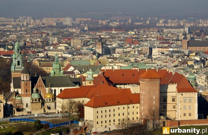 Panorama miasta Kraków