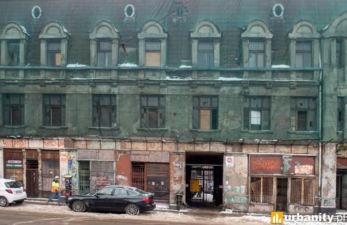 Kamienica przy ul. Legionów 20 przejdzie gruntowną modernizację (fot. uml.lodz.pl)