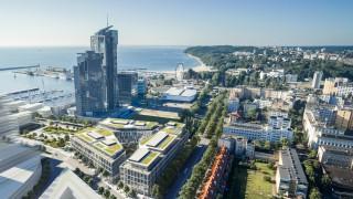 Projekt kompleksu biurowego Marina Office w Gdyni