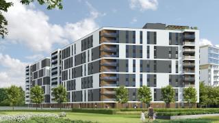 Parkur Residence - wizualizacja