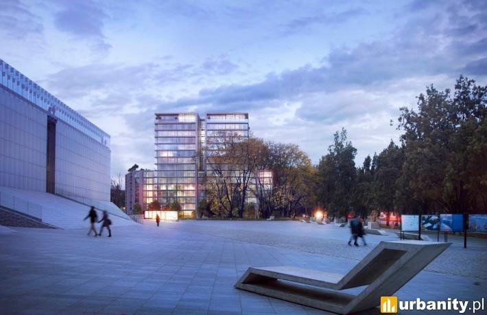 Wizualizacja obiektu Unia Art Residence w Lublinie