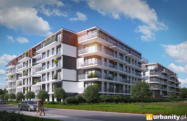 Apartamenty Novum II w Krakowie - projekt