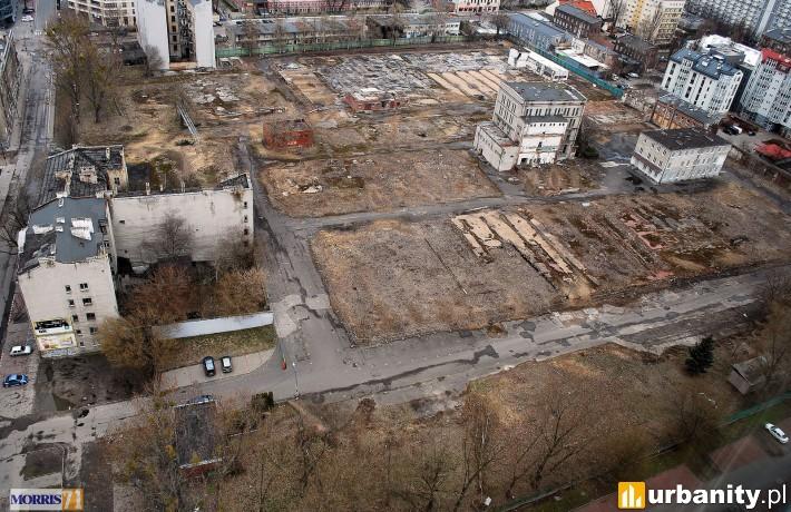 Działka, na której powstanie kompleks firmy Echo Investment (fot. morris71)