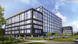 Wizualizacja kolejnego etapu kompleksu Cross Point w Łodzi
