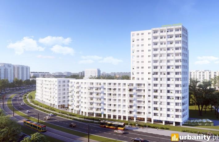 Projekt inwestycji Biały Dom w Warszawie