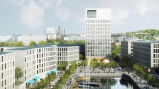 Koncepcja Jems Architekci na zabudowę Drewnicy i dawnych terenów stoczniowych w Gdańsku